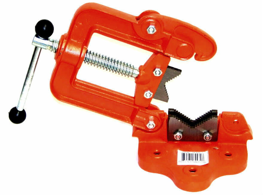 Bench Pipe Vise Clamp On Hinged Type Plumber 39 S Vice 2