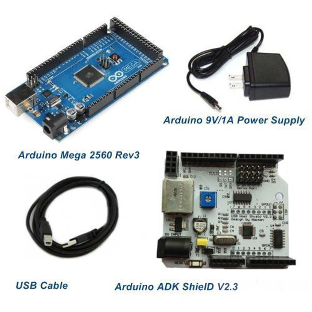 Mega rev and adk shield for android starter kits