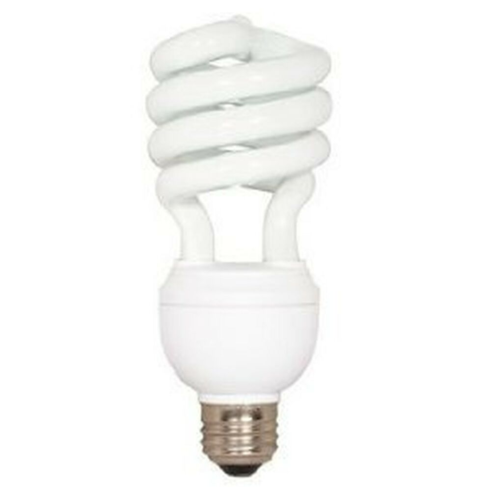 23 Watt Dimmable Compact Fluorescent 2700k Warm White Cfl Bulb Spiral Ebay