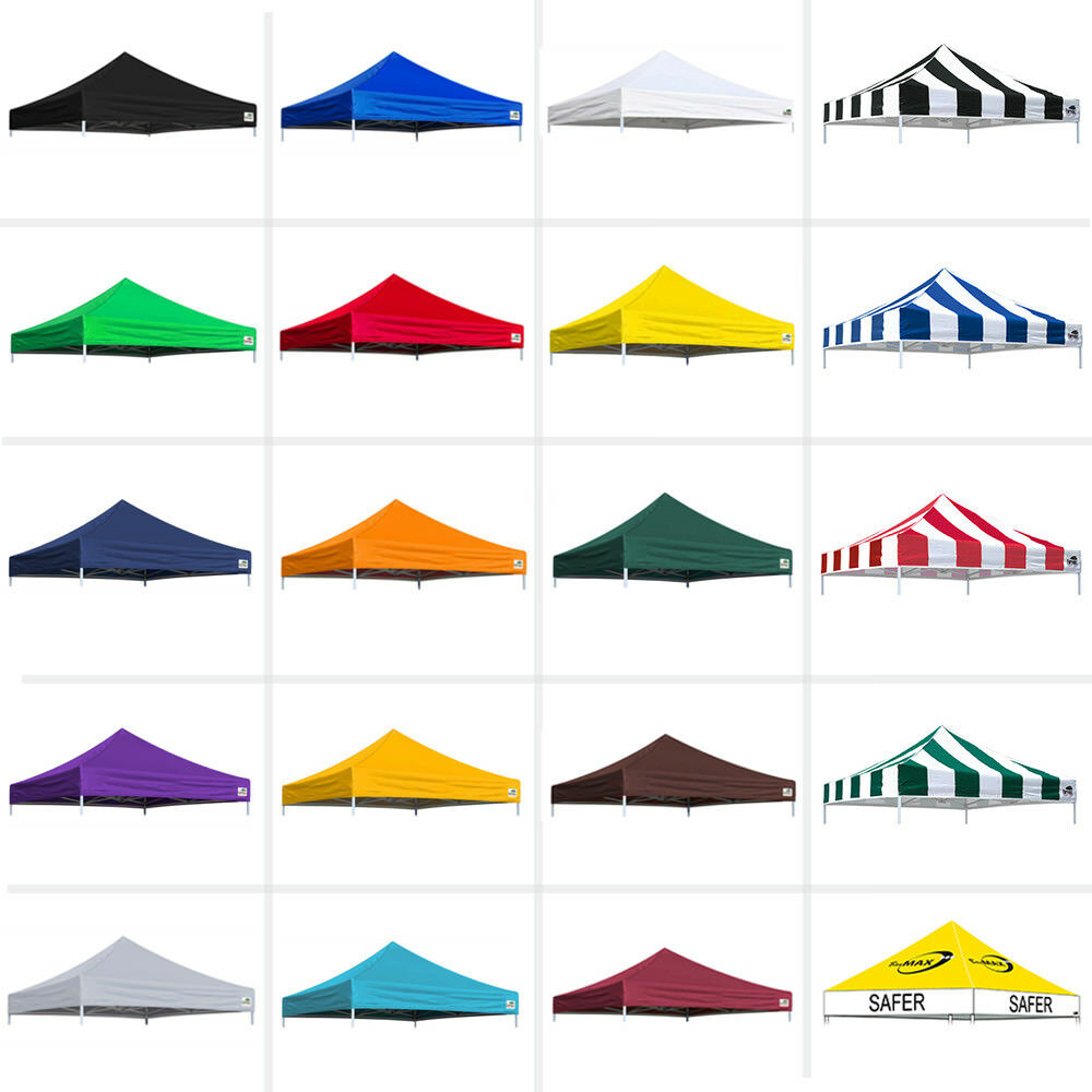 New 10x10 Replacement Instant Ez Pop Up Canopy Top Cover