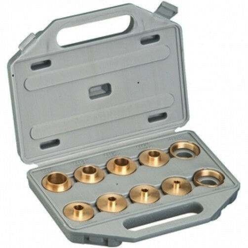 how to use router template guide bushings - brass router template bushing guide kit set for porter