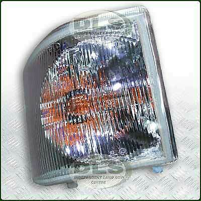 Pair Of Clear Front Indicator Lights For Land Rover: RH Front Clear Indicator Lamp Land Rover Discovery 1 VIN