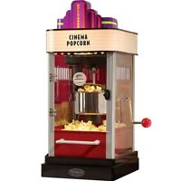 Mini Kettle Popper Popcorn Machine ~ Home Movie Theater Style Corn Popper Maker