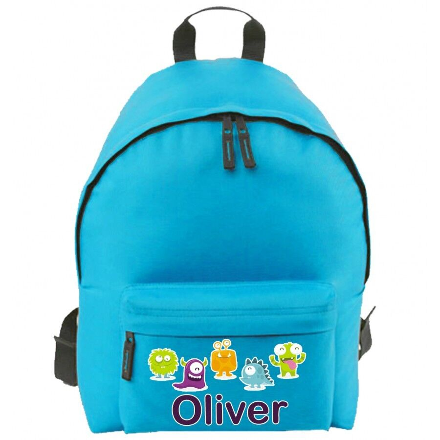 Personalised School Bag For Boy Girl Kid S Name Amp Design