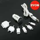 8 Pcs USB Home+Car Charger+Data Cable set for iPod Touch iPhone 2G 3G 3GS 4S 4