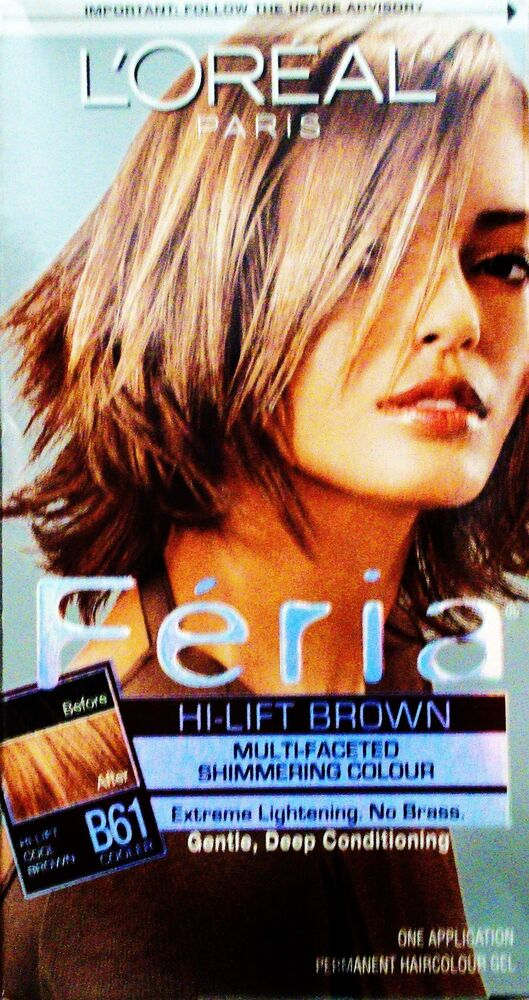 ... Paris Hi Lift Cool Downtown Brown Hair Color for Dark Hair B61 | eBay