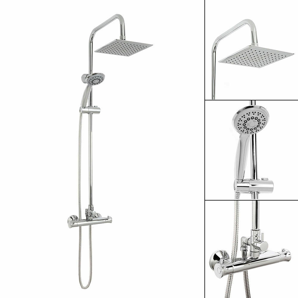 how to set up two shower heads