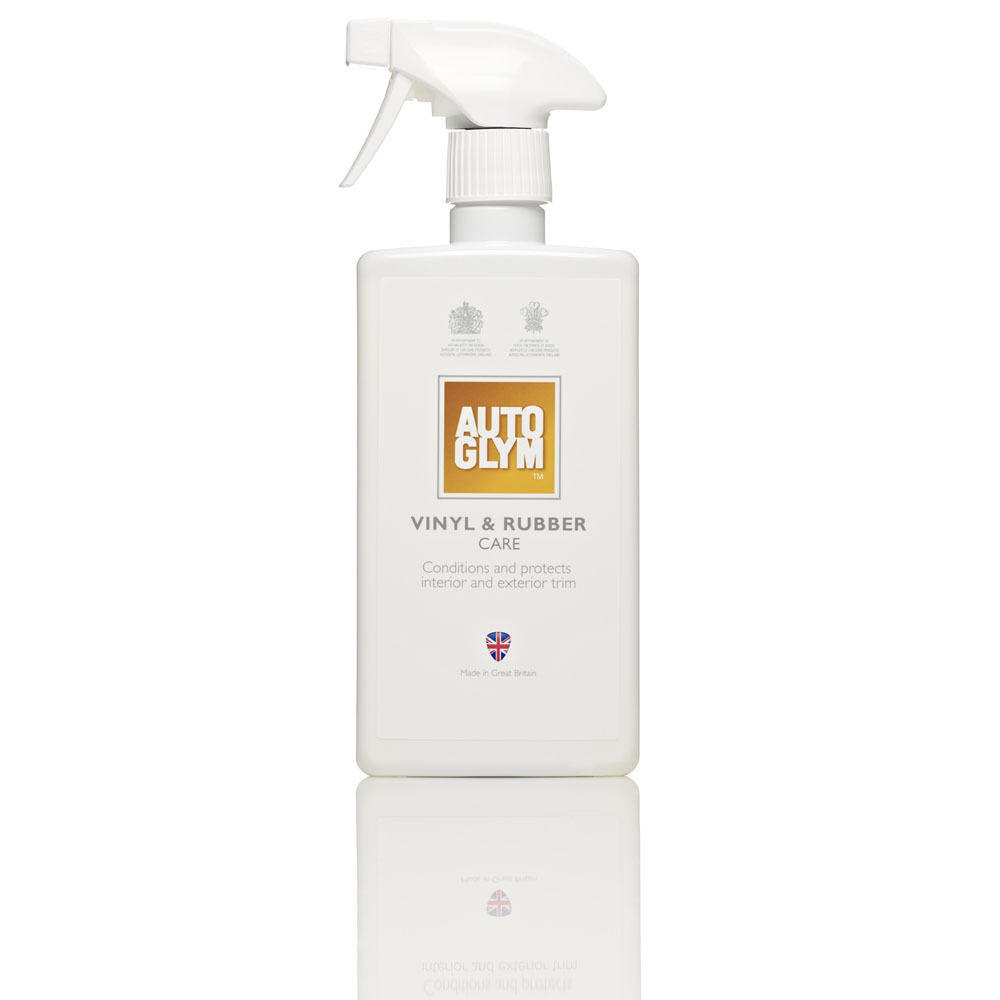 autoglym vinyl rubber care 500ml trim spray interior cleaner ebay. Black Bedroom Furniture Sets. Home Design Ideas