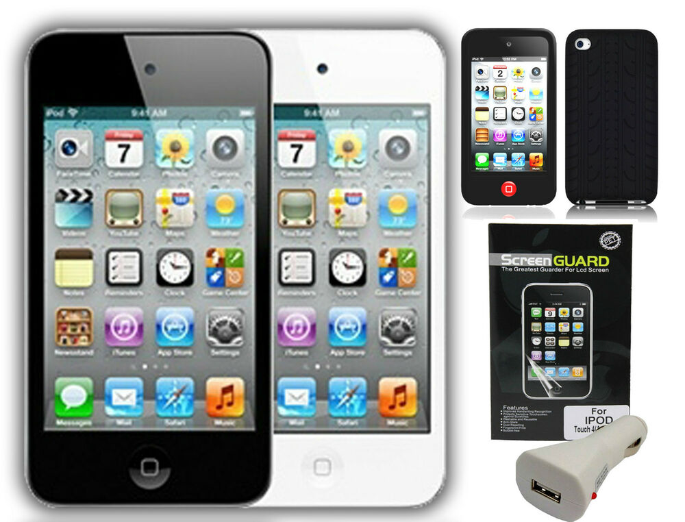 Apple iPod Touch 8GB (Black or White- Choose color) 4th ...