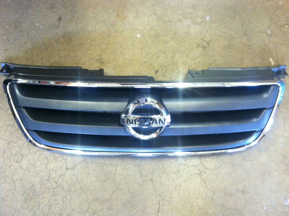 2002 2004 Nissan Altima New Oem Chrome Front Grille With