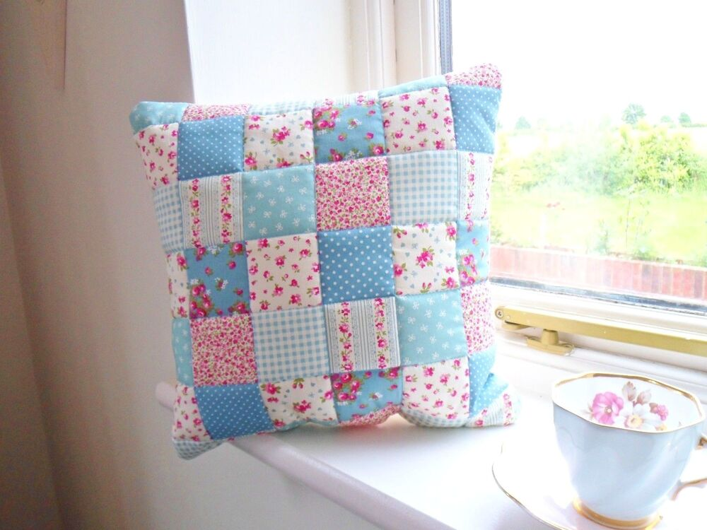 Patchwork Quilting Kit Complete Cushion Craft Kit Sewing