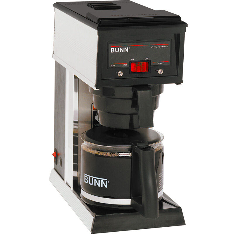 Commercial Coffee Maker ~ Bunn a cup commercial coffee maker pourover brewer