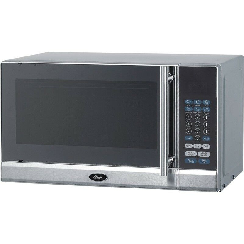700 Watt Countertop Microwave Oven - Oster Digital Cooker w/ Turntable ...