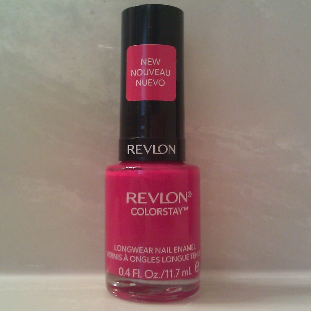Revlon Nail Polishes: Revlon ColorStay Longwear Nail Polish Enamel W/ GEL Finish