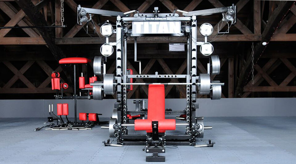 Titan t multi gym kraftstation kraftmaschine mit