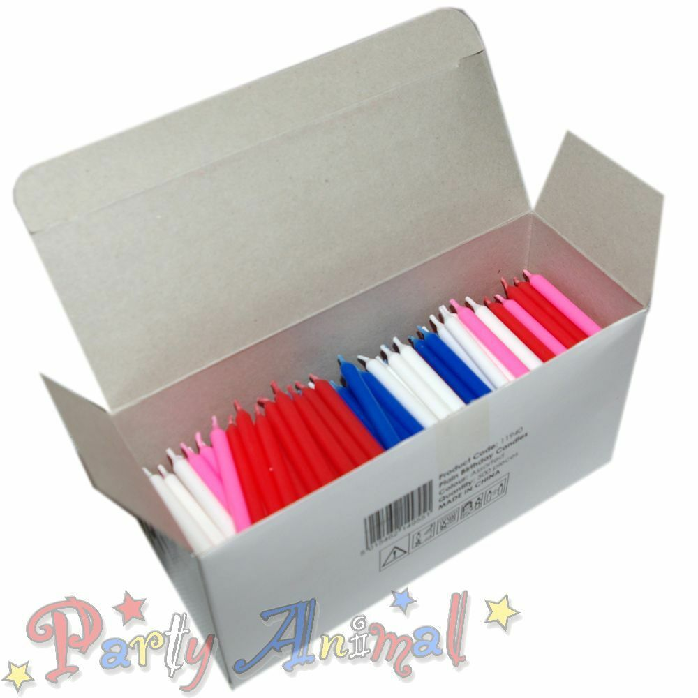 Details About 500 BULK Wholesale Wax Birthday Candles Cake Decorating Equipment Supplies