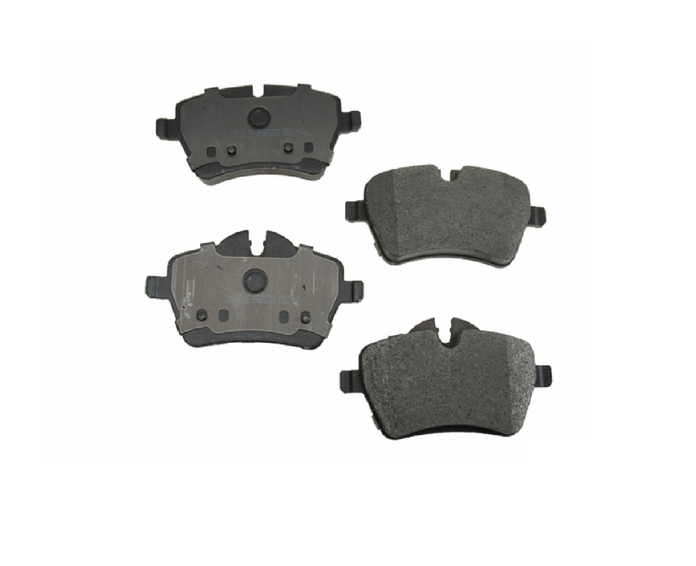 r55 r56 r57 front brake pads set for mini cooper s s clubman 2007 to 2010 ebay. Black Bedroom Furniture Sets. Home Design Ideas