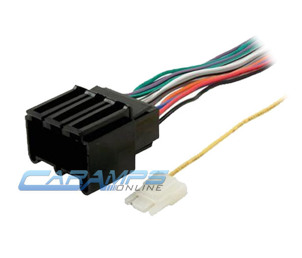 car stereo cd player wiring harness wire adapter plug for