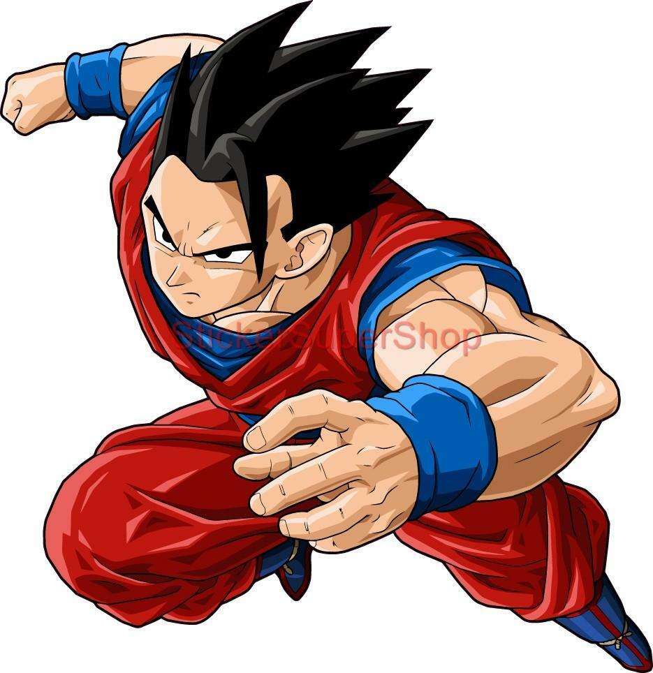Choose Size Ultimate Gohan Decal Removable Wall Sticker