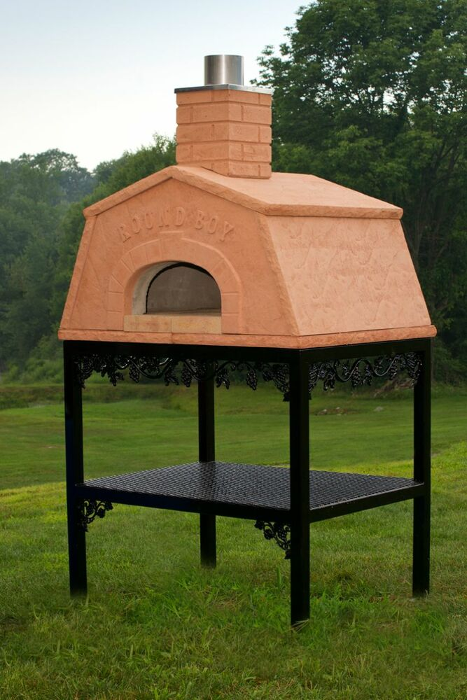 Old World Outdoor Wood Fired Pizza Hearth Oven Ebay