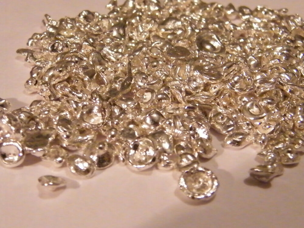925 Sterling Silver Casting Grain Nuggets Bullion Lost