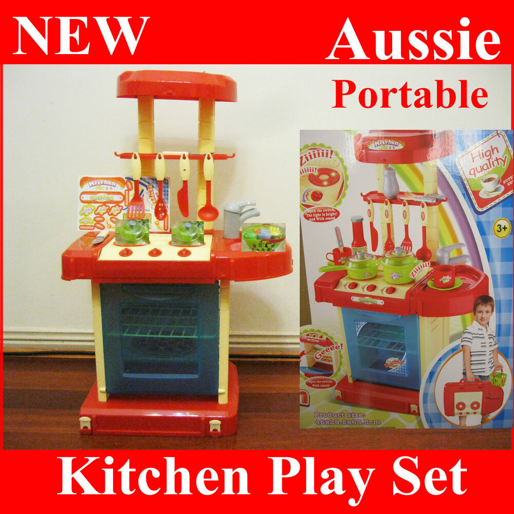 Interactive Kitchen Kids Boy Cooking Stove Appliance