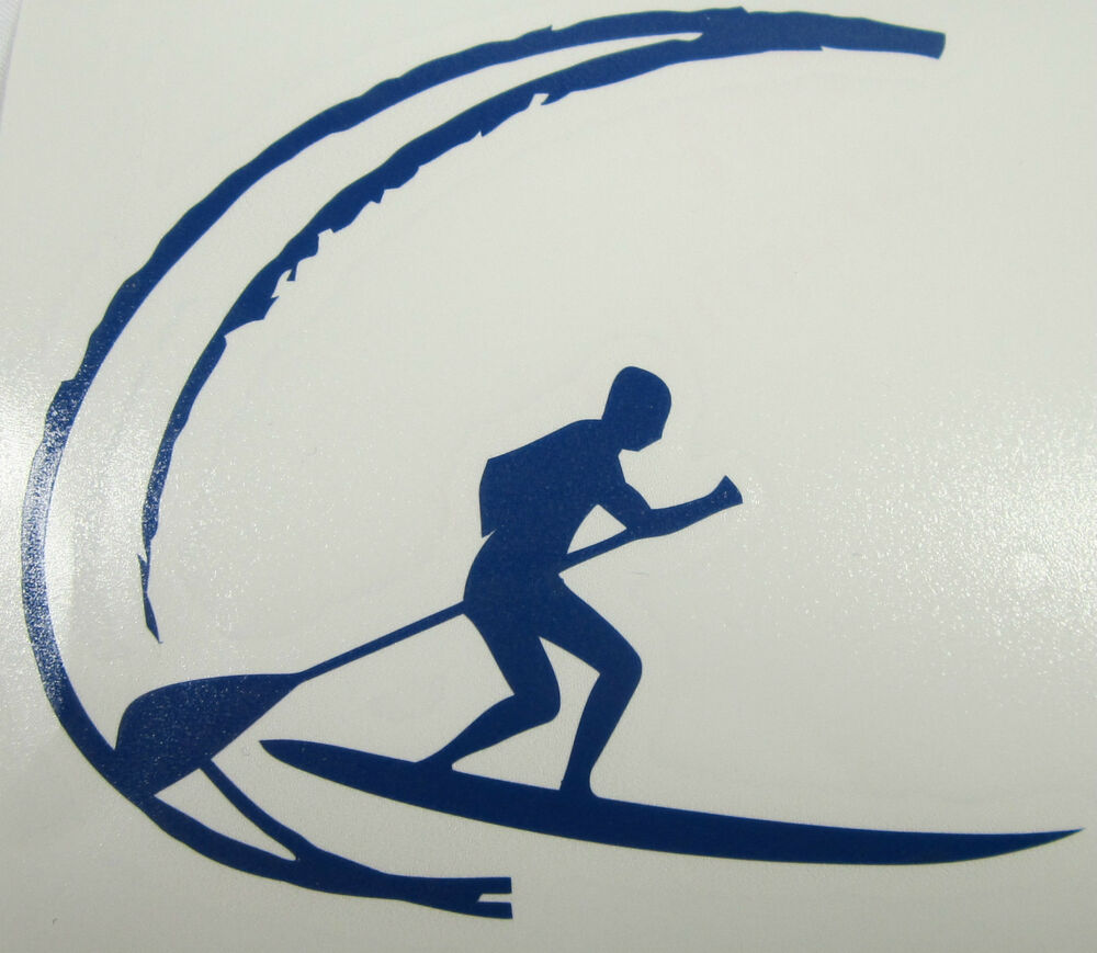 Truck Stickers For Back Window >> SUP Stand up paddle board decal Quality vinyl sticker | eBay