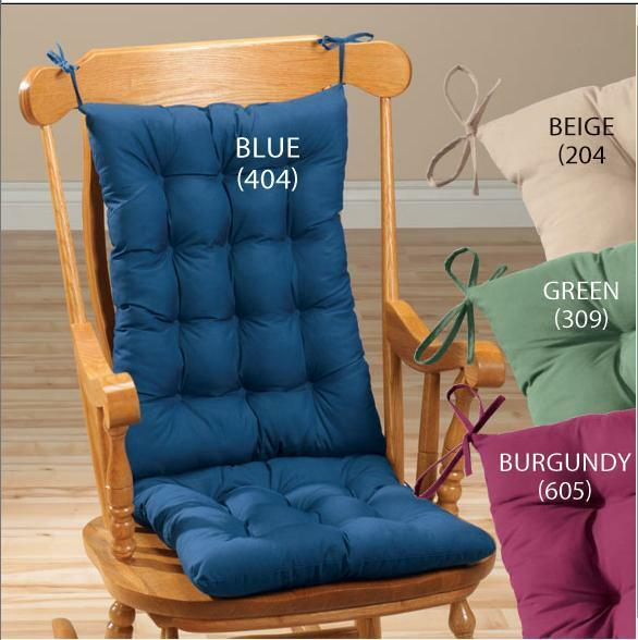 Solid Rocking Chair Cushion Chair Set, Great For The Back, Cozy And ...