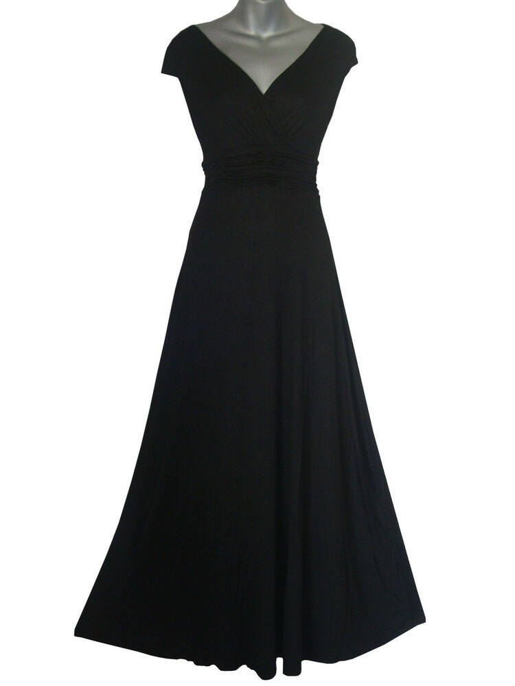 Long Full Length Maxi Evening Cocktail Party Ball Dress
