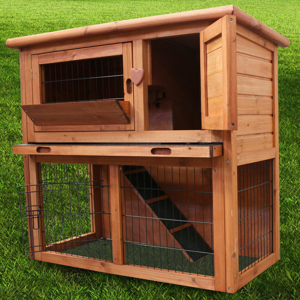 3ft rabbit hutch guinea pig run deluxe pet hutches for What is a rabbit hutch