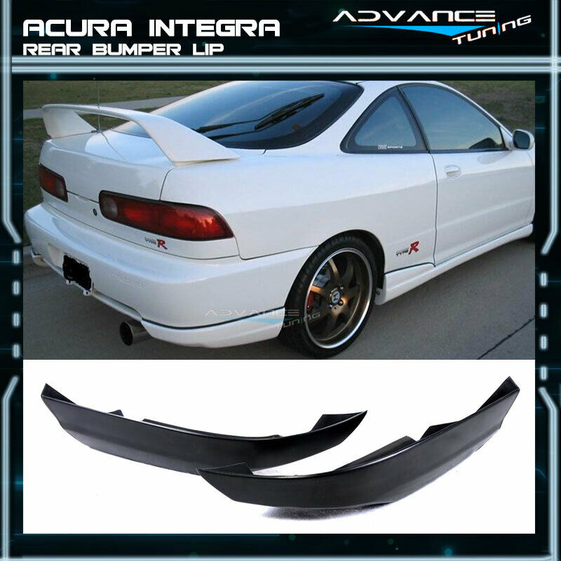 Fit For 94-97 Acura Integra 2Dr T-R Style Rear Bumper Lip