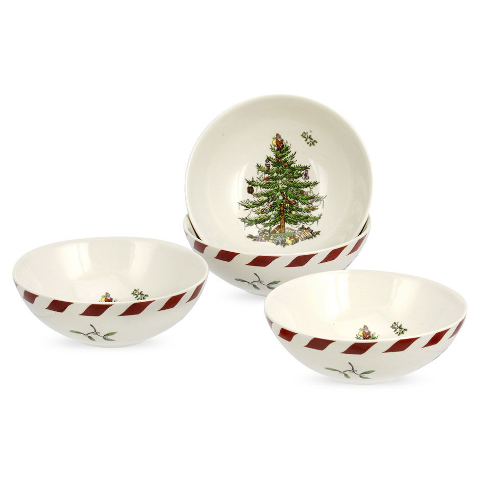Spode Christmas Tree China Sale: Spode Christmas Tree Peppermint Dip Dishes Set Of 4