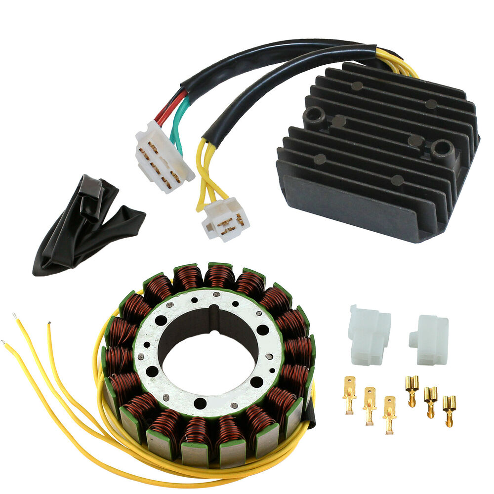 Honda Cx500 Turbo Parts For Sale: STATOR & REGULATOR RECTIFIER Fits HONDA CX500T CX650T
