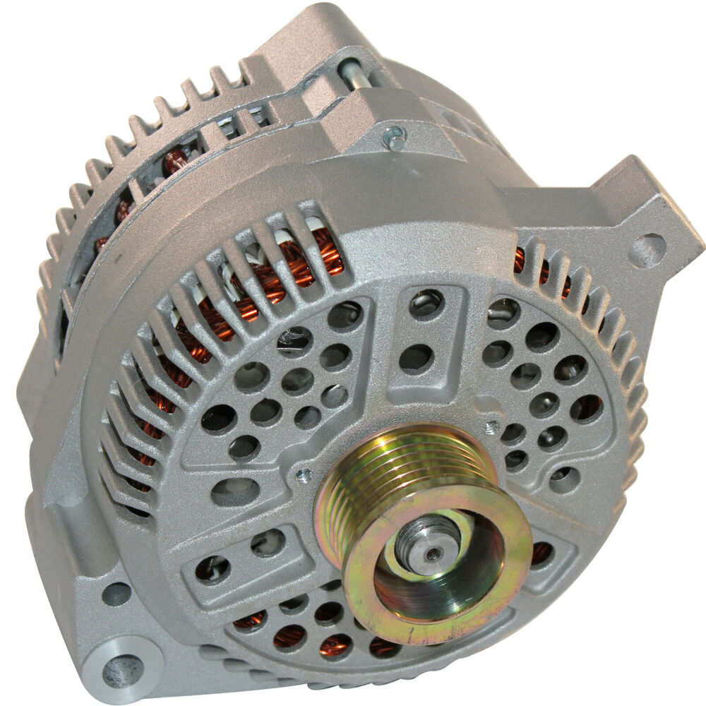 200amp high output alternator fits ford mustang 1 wire. Black Bedroom Furniture Sets. Home Design Ideas
