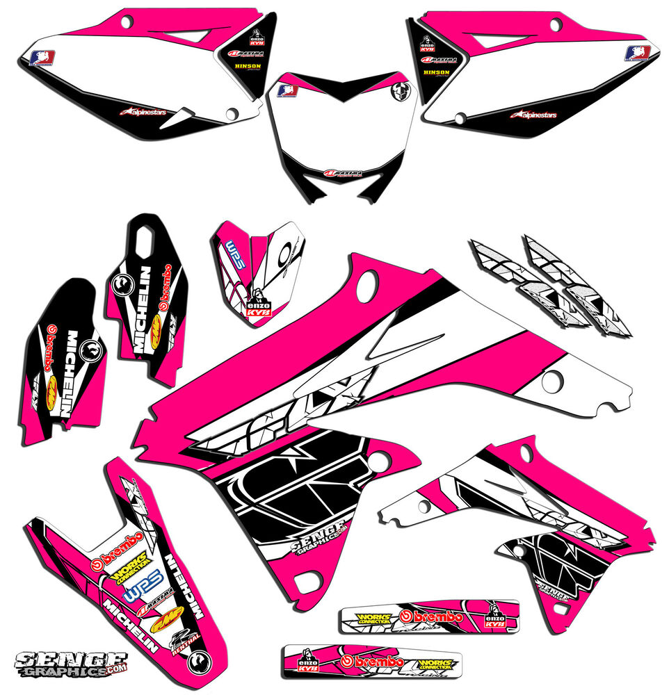 1999 2000 suzuki rm250 rm 250 graphics kit 99 00 decals for Sticker deco