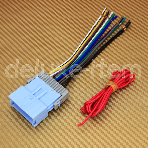 s l1000 chevy pontiac car car stereo radio wiring harness wire adapter Wire Harness Assembly at gsmx.co