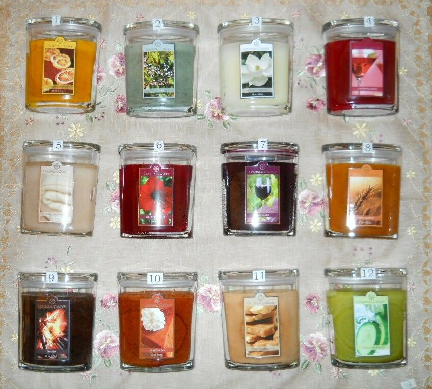 Colonial Candle 22 Oz Jar Candles