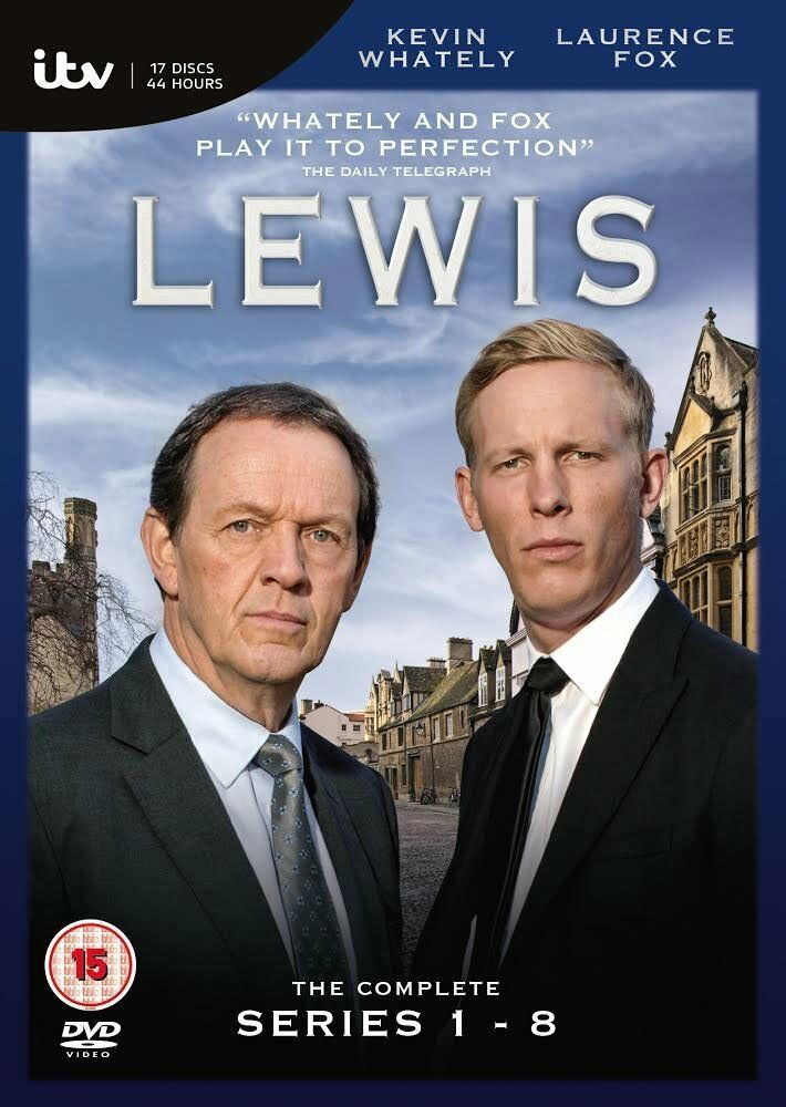Inspector Lewis Series 1 8 Complete Region 2 PAL New 2014 17 DVD Box