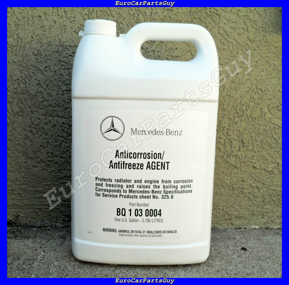 genuine oem mercedes benz mb spec 325 0 engine blue