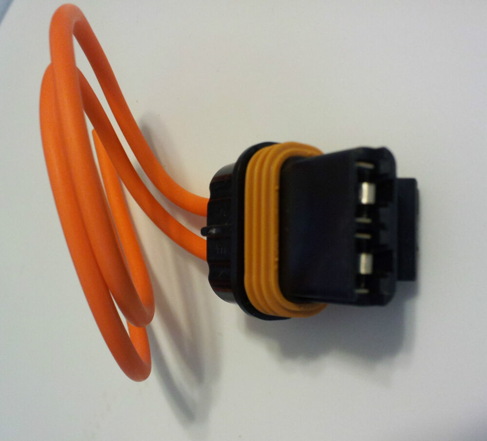 1985 Up Chevy Gm Heater Blower Motor Fan Connector Wire Pigtail Plug Glow Wiring Ac Nos Oem Ebay
