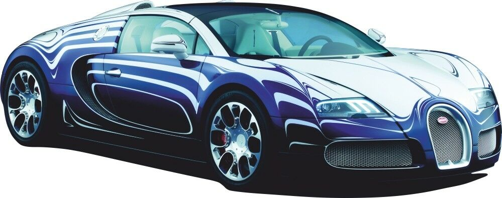 Car sport racing car bugatti veyron sticker cars decal for Cars wall mural sticker