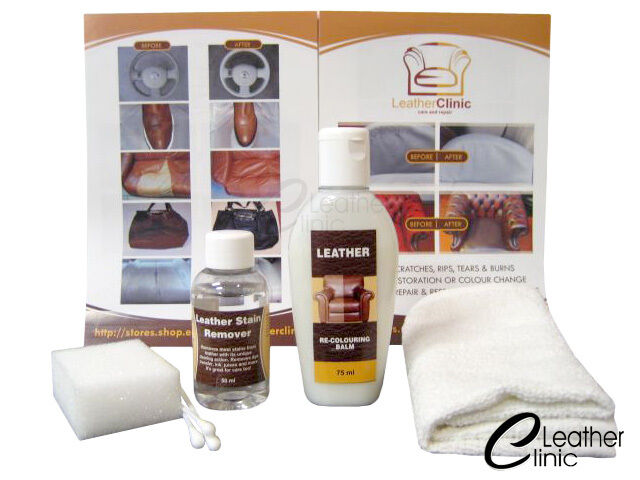 Leather Ink Stain Remover Kit Leather Balm Ebay