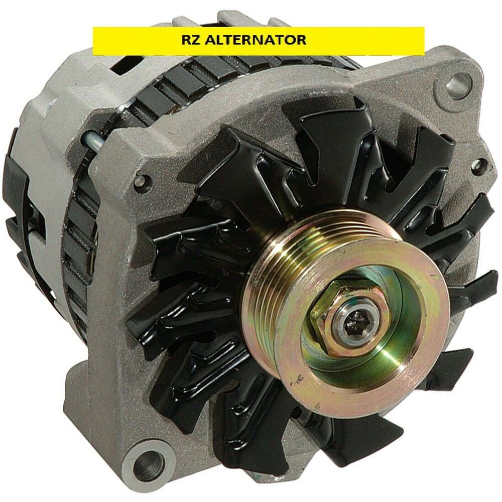 100  New Alternator Fits Chevy 220 Amp One Wire 1965
