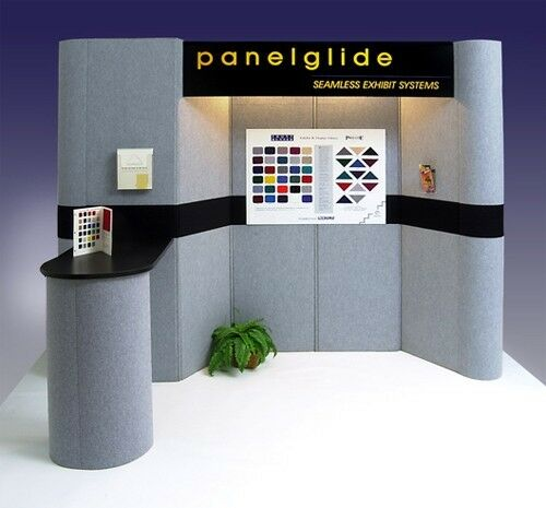 Exhibition Booth System Panel : Trade show display booth folding panel ebay