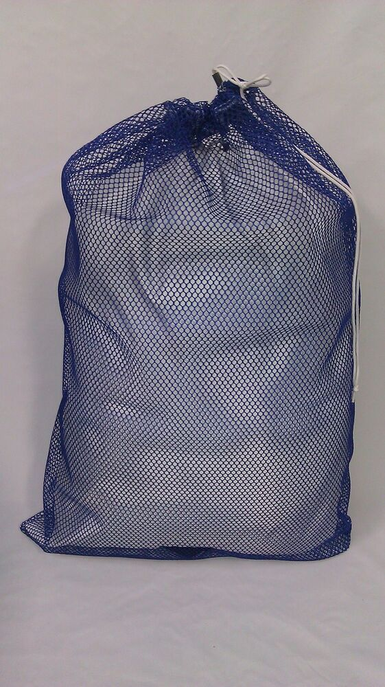 mesh laundry bags heavy duty 30x40 mesh laundry bag blue made in usa 30633