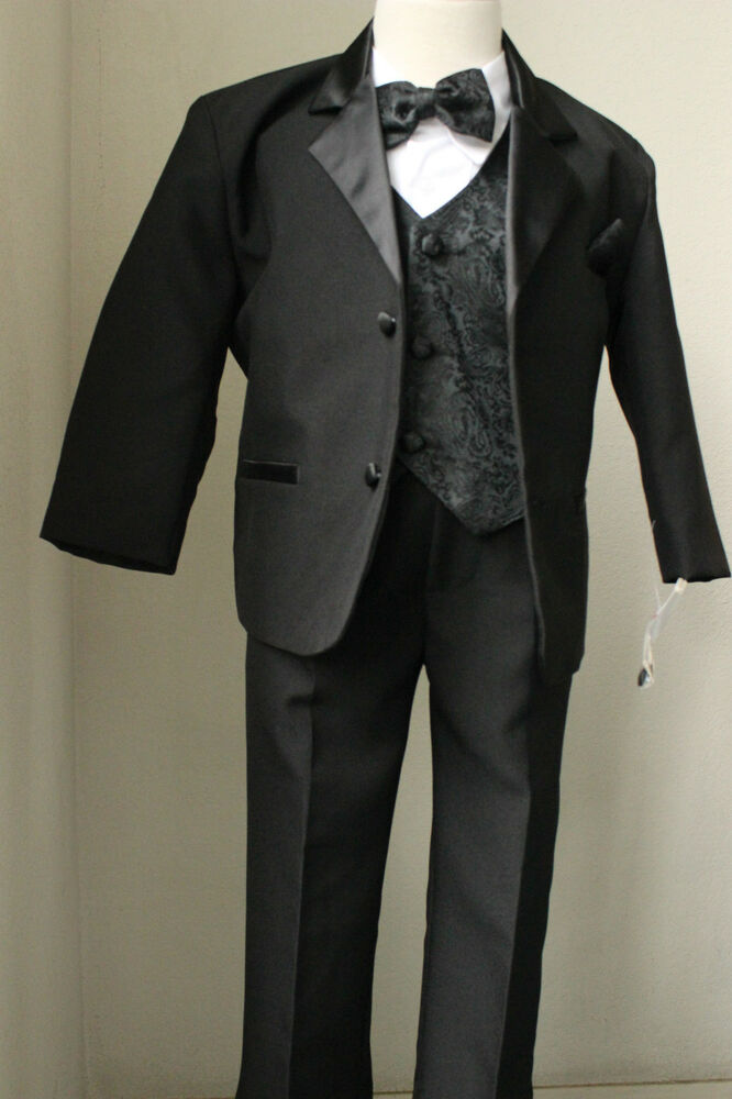 twenty black suit with ivory