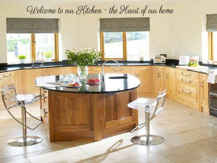 Welcome to our kitchen wall art decal lettering words for Kitchen dining room wall decor