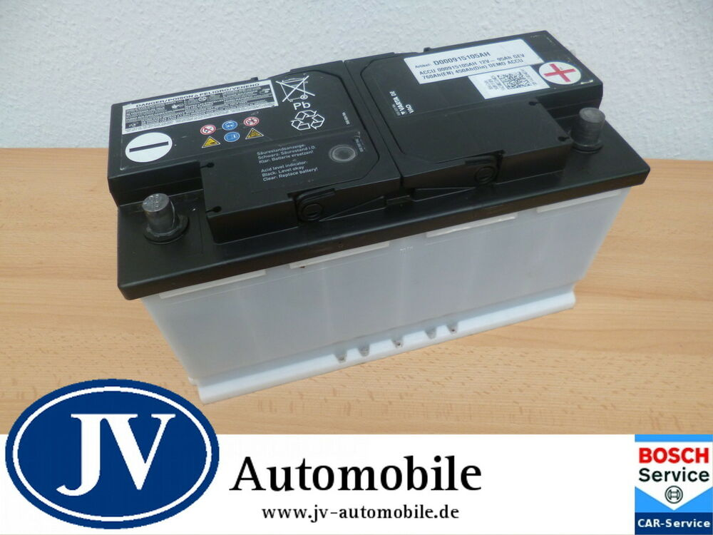 original vw autobatterie starterbatteri e 12v 95ah 450a din 760a en ebay. Black Bedroom Furniture Sets. Home Design Ideas