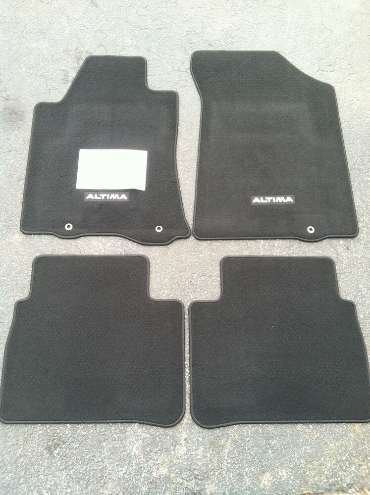New Oem 2013 2015 Nissan Altima Sedan Carpet Floor Mats