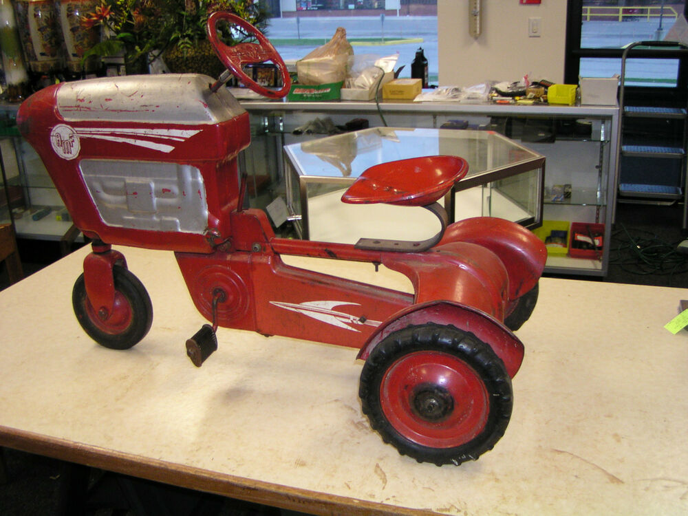 Junior Pedal Tractors Antique : Vintage amf speed pedal tractor ebay